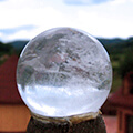 High mountain crystal